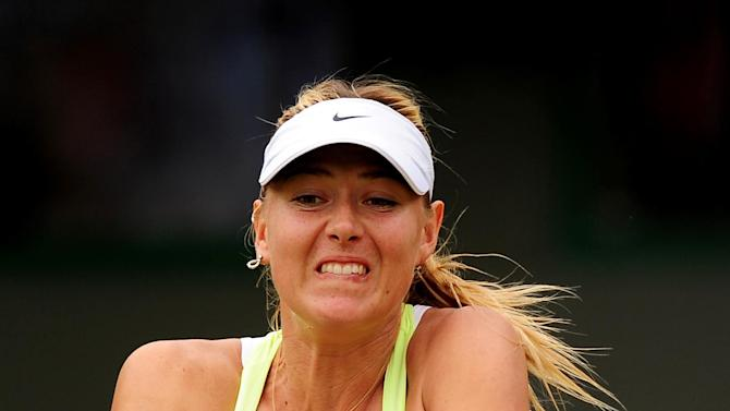 Tennis - Maria Sharapova File Photo