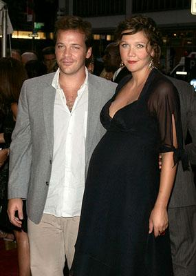 Peter Sarsgaard and Maggie Gyllenhaal at the New York premiere of Paramount Pictures' World Trade Center