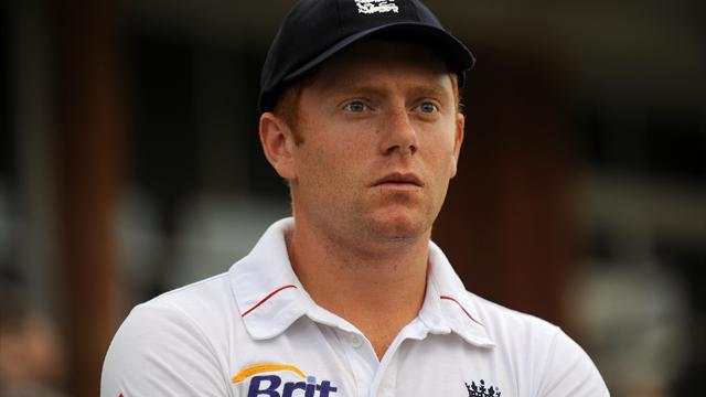 Cricket - Bairstow heads home from India