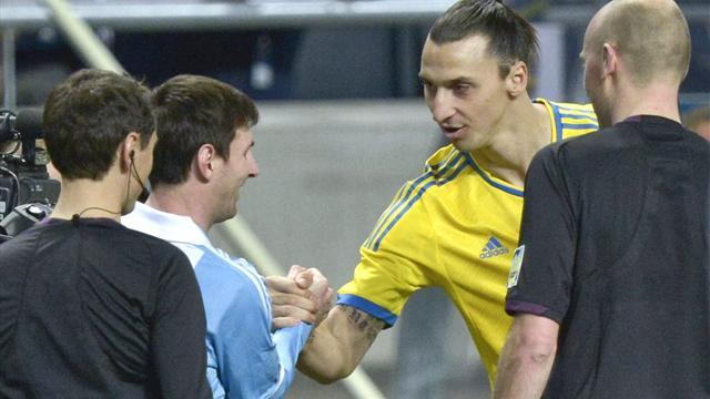 Liga - Ibrahimovic: Messi is back to his best