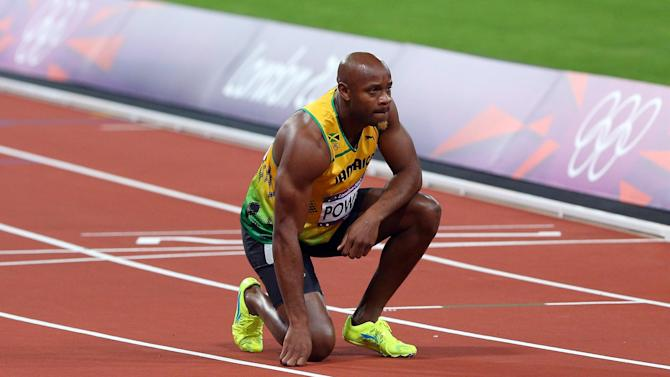 Athletics - Asafa Powell speeds to 9.84 to clock year's fastest 100 metres