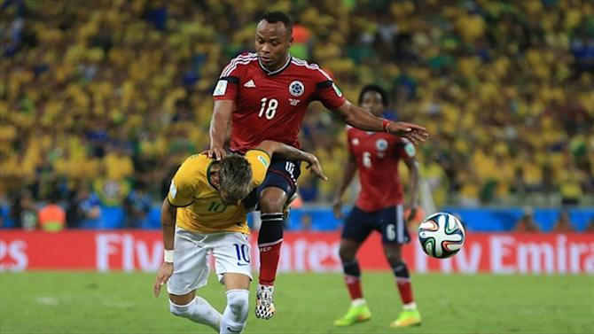 World Cup - Stars support Neymar after injury