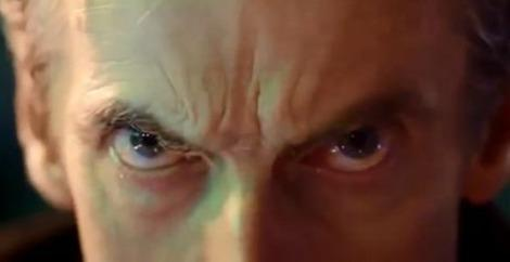 Peter Capaldi as the Doctor in the Day of the Doctor