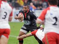 Toulon's England flanker Steffon Armitage, pictured in 2011, who tested positive for morphine five months ago, was on Thursday cleared of any wrongdoing by the French Rugby Federation's appeals commission, the club reported