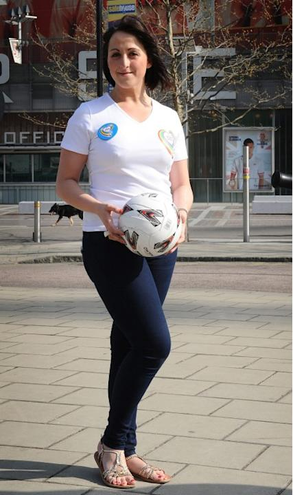 Natalie Cassidy is announced as the new ambassador for the Health Lottery in London, UK