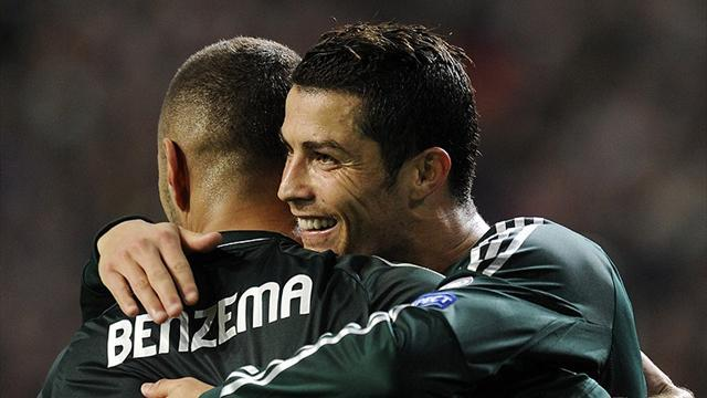 Ronaldo inspires Real Madrid to win at Ajax