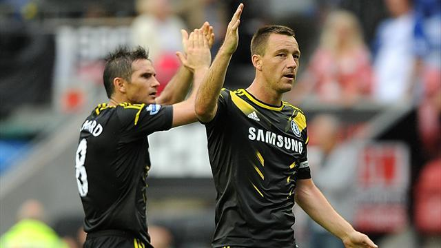 Premier League - Terry wants new Lampard deal