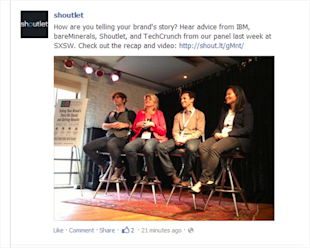 Facebook News Feed Redesign: What Marketers Need to Know image facebook newsfeed pictures before1