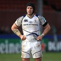 Shane Jennings scored one of Leinster's tries in the victory over Newport-Gwent