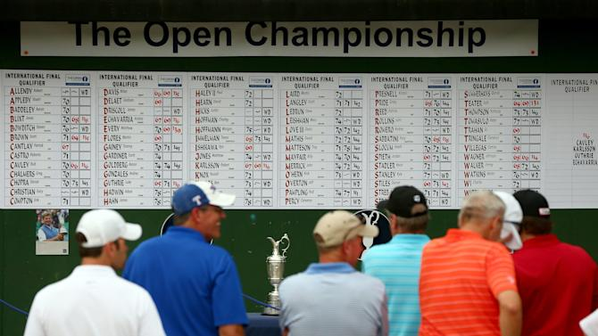 The Open Championship International Final Qualifying