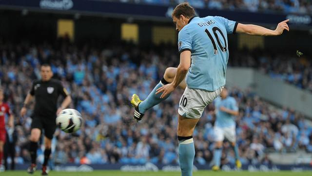 Premier League - Dzeko volley gives City win over West Brom
