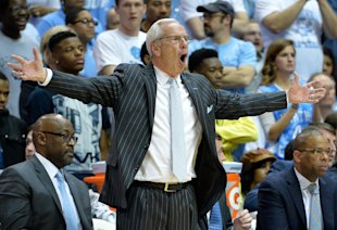 Roy Williams' Tar Heels have lost six of their last 10 games. (Getty)