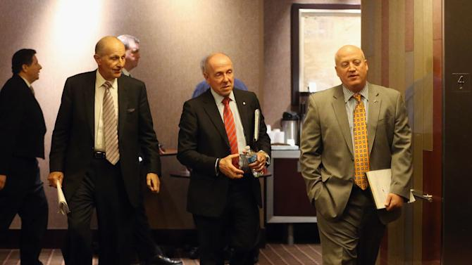 Owners And Players Meet To Discuss NHL Lockout