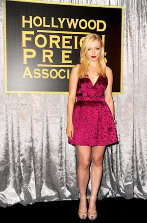 Francesca Eastwood Named Miss Golden Globe 2013