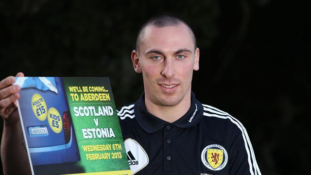 Football - Brown: Scotland captaincy a huge honour