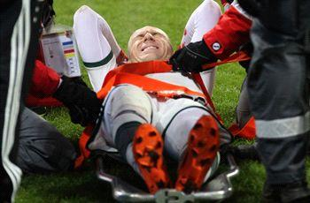 Bayern Munich rocked by Robben injury