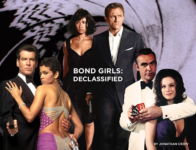 bond girl gallery title card