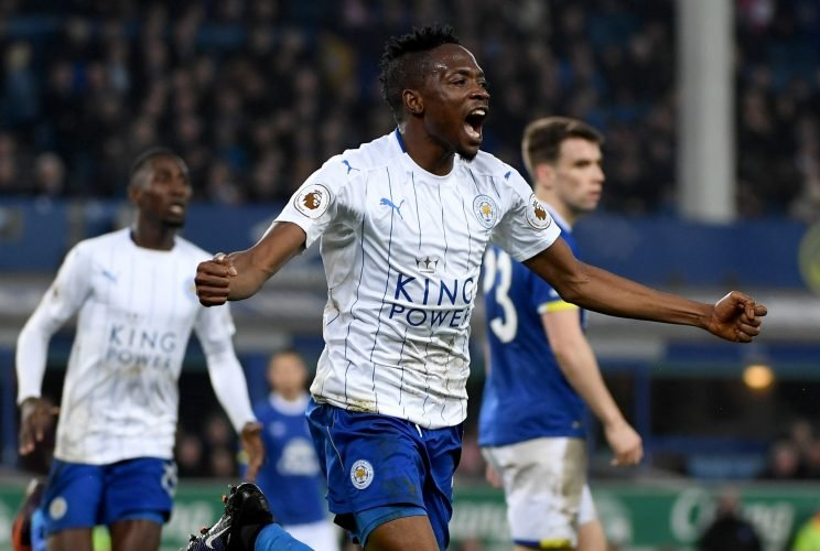 Image result for Ahmed Musa's Brace Powers Leicester To FA Cup 4th Round
