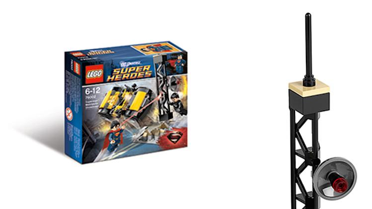 LEGO 'Man of Steel' Metropolis Showdown Set