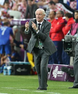 Ireland boss Giovanni Trapattoni has been riled by former captain Roy Keane's comments of his side performances at Euro 2012