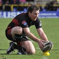 Glen Jackson has made a successful switch from Saracens player to top official