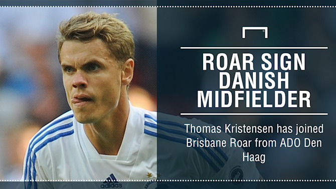 Roar sign Kristensen from Dutch club