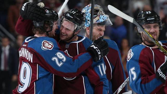 NHL - Avalanche edge Wild in overtime to take 3-2 lead