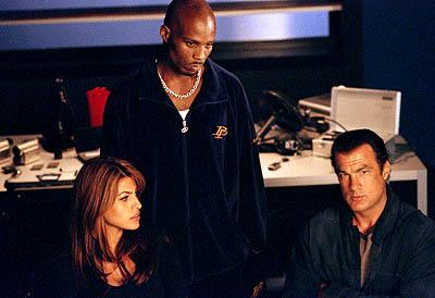 Eva Mendes , DMX and Steven Seagal in Warner Brothers' Exit Wounds