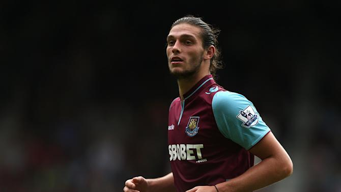 Sam Allardyce believes it is only a matter of time before Andy Carroll, pictured, starts finding the back of the net