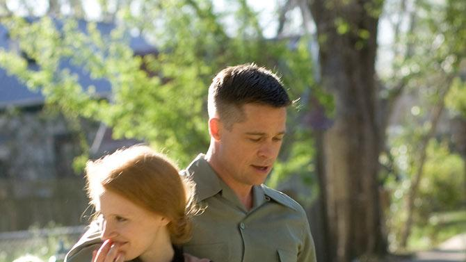 The Tree of Life 2011 Fox Searchlight Pictures Jessica Chastain Brad Pitt