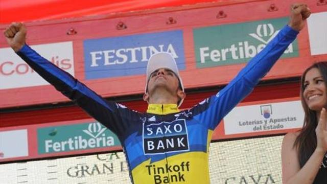Vuelta a España - Contador keeps lead, set to win Vuelta in Madrid