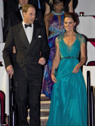 Prince William and Kate, Duchess of Cambridge at the Royal Albert Hall for a British Olympic Team GB gala event in London, Friday, May 11, 2012. (AP Photo/Alastair Grant, Pool)