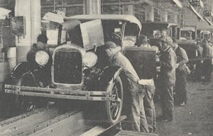 What Henry Ford Can Teach Us About Blogging image Ford Motor Company assembly line