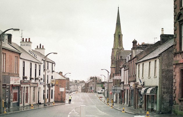Main Street of Lockerbie