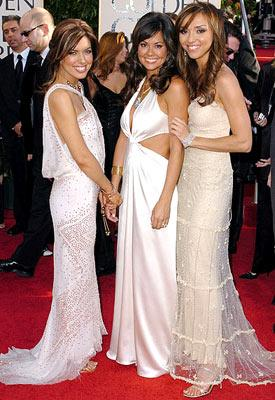 Bobbie Thomas, Brooke Burke and Giuliana DePandi 62nd Annual Golden Globe Awards - Arrivals Beverly Hills, CA - 1/16/05