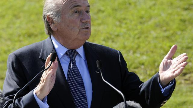 Football - Blatter to talk to UEFA about bans