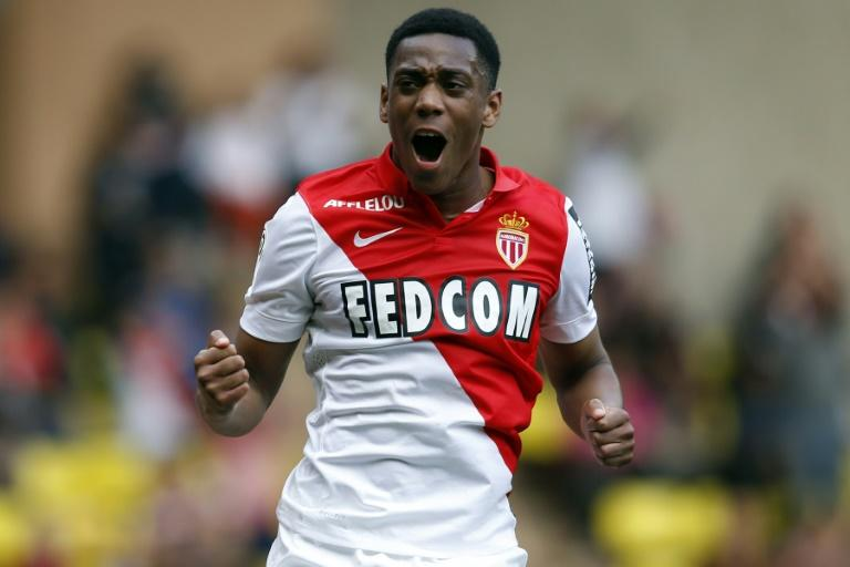 Anthony Martial, pictured on May 3, 2015, will reportedly go to Manchester United for a huge fee of anywhere between 50 million and 80 million euros
