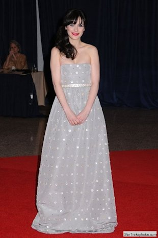 zooey deschanel correspondent dinner