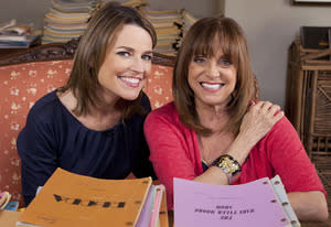 Savannah Guthrie, Valerie Harper  | Photo Credits: Adam Rose/NBC