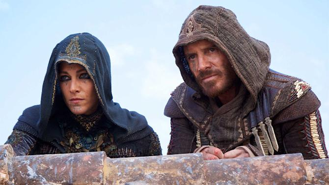Michael Fassbender leaps into action in new 'Assassin's Creed' movie clip