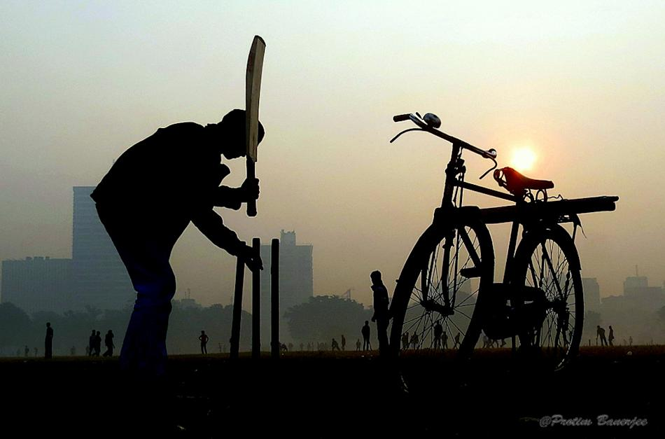 The hardest part of the game is getting the stumps to stay upright, by Protim Banerjee  [SCPC5]