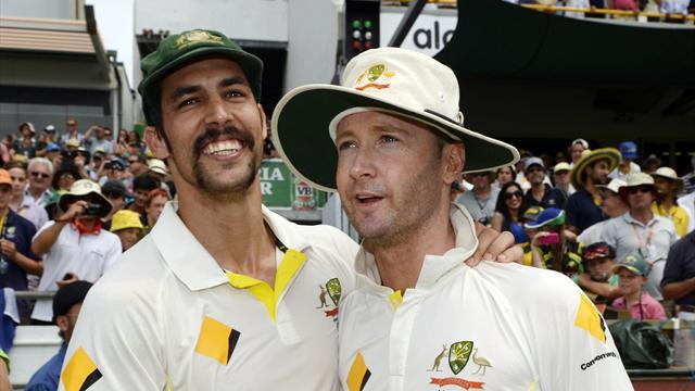 Cricket - Career high for Clarke as Australia return to the summit
