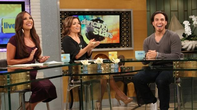 Apolo Anton Ohno stops by Access Hollywood Live on August 16, 2012  -- Access Hollywood