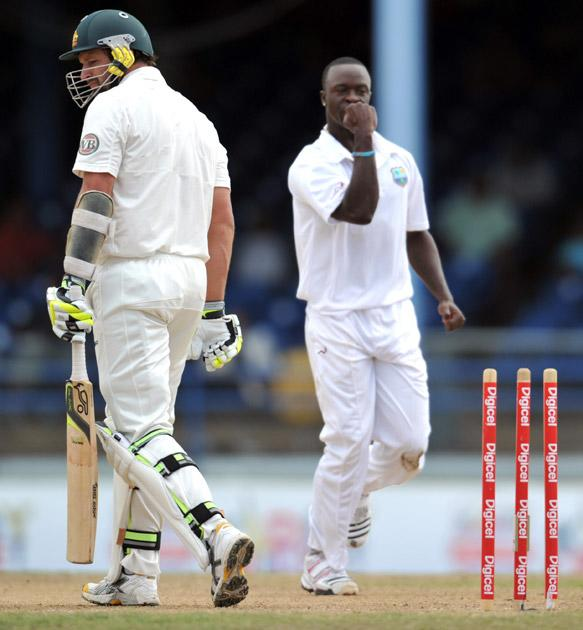 West Indies vs Australia, 2nd Test in Trinidad