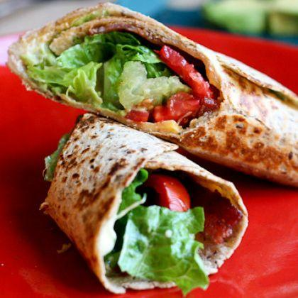 BLT Quesadilla Wrap