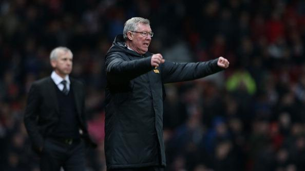 Alex Ferguson criticou o comportamento de Alan Pardew, comandante do Newcastle
