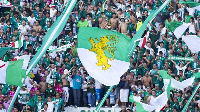 Concacaf Football - Crowd violence mars Leon's win at Monterrey