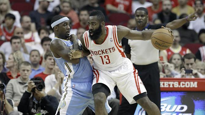 Howard scores 25 as Rockets beat Nuggets 122-111