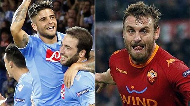 Serie A - Leading pair clash in Italy