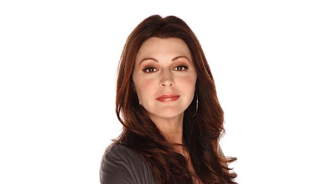 "Jane Leeves stars as Joy Scroggs in ""Hot In Cleveland."""